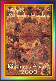 IAS's Kindness 2000 Award